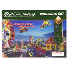 Конструктор Magplayer магнитный набор 112 эл. MPB-112 (MPB-112)
