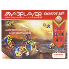 Конструктор Magplayer магнитный набор 40 эл. MPB-40 (MPB-40)