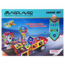 Конструктор Magplayer магнитный набор 98 эл. MPA-98 (MPA-98)