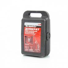 Домкрат MTX гидравлический бутылочный, 2 т, h подъема 181-345 мм, в пластиковом  кейсе, MTX MASTER (MIRI507509)