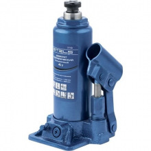 Домкрат Stels гидравлический бутылочный, 4 т, h подъема 194-372 мм  (MIRI51102)