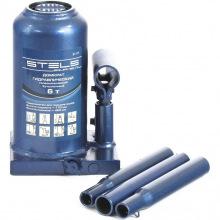 Домкрат Stels гидравлический бутылочный телескопический, 6 т, h подъема 170-420 мм  (MIRI51117)