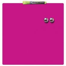 Доска NOBO магнитно - маркерная 36см x 36см Pink (1903803)
