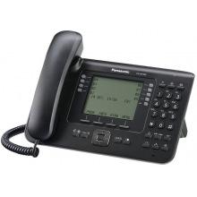 Проводной IP-телефон Panasonic KX-NT560RU-B Black для АТС Panasonic KX-TDE/NCP/NS (KX-NT560RU-B)