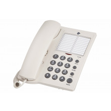 Проводной телефон 2E AP-310 Beige White (680051628738)