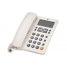 Проводной телефон 2E AP-410 Beige White (680051628714)