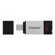 Флеш пам'ять 32GB USB-C 3.2 Gen 1 DataTraveler 80 USB-C 3.2 Gen1 DataTraveler 80 (DT80/32GB)