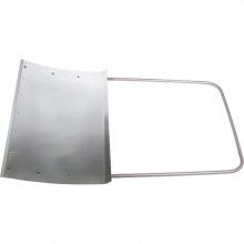 Движок для снігу 750 х 500 х 1,2 мм (алюміній) СИБРТЕХ (MIRI61526)