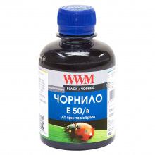 Чернила WWM E50 Black для Epson 200г (E50/B) водорастворимые