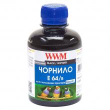 Чернила WWM E64 Black для Epson 200г (E64/B) водорастворимые