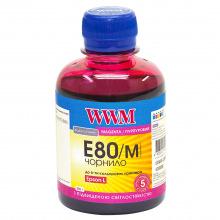 Чернила WWM E80 Magenta для Epson 200г (E80/M) водорастворимые