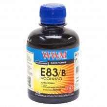 Чернила WWM E83 Black для Epson 200г (E83/B) водорастворимые