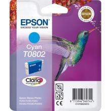 Картридж Epson T0802 Cyan (C13T08024011)