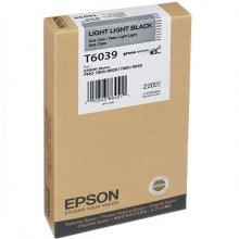 Картридж Epson T6039 Light Light Black (C13T603900)