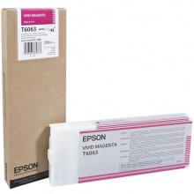 Картридж Epson T6063 Vivid Magenta (C13T606300)