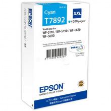 Картридж Epson T7892 Cyan (C13T789240)