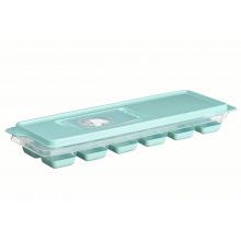 Форма для льоду Ardesto Fresh, з кришкою, голубий тіфані, силікон, пластик (AR1101TP)