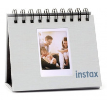 Фотоальбом INSTAX MINI 9 TWIN FLIP ALBUM - SMOKY WHITE (70100139055)