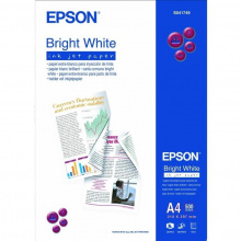 Бумага Epson Bright White Ink Jet Paper 90 г/м, A4 500л. (C13S041749)