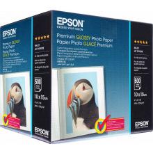 Фотобумага Epson Premium Glossy Photo Paper 255 г/м кв, 10х15см, 500л. (C13S041826)