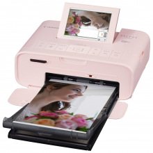 Фотопрінтер Canon SELPHY CP-1300 Pink (2236C011)