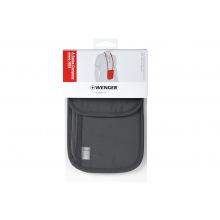 Гаманець на шию Wenger Neck Wallet with RFID pocket, сірий (604589)