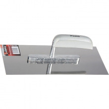 Гладилка з нержавіючої сталі, 480 х 130 мм, дерев'яна ручка MTX (MIRI867349)