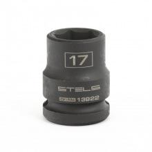 Головка утакрная шестигранная, 17 мм, 1/2, CrMo Stels (MIRI13922)