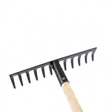 Граблі прямі 12-зубі, 300 мм, з держаком СИБРТЕХ (MIRI61741)