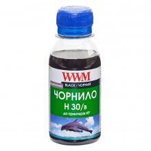 Чорнило WWM H30 Black для HP 100г (H30/B-2) водорозчинне