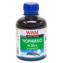 Чернила WWM H30 Black для HP 200г (H30/B) водорастворимые