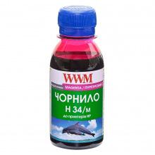 Чернила WWM H34 Magenta для HP 100г (H34/M-2) водорастворимые