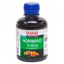 Чорнило для СНПЧ WWM H35 Black для HP 200г (H35/BP) пігментне