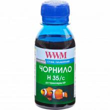 Чорнило для СНПЧ WWM H35 Cyan для HP 100г (H35/C-2) водорозчинне
