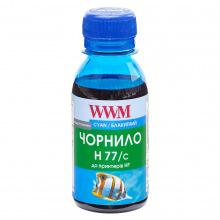 Чорнило WWM H77 Cyan для HP 100г (H77/C-2) водорозчинне