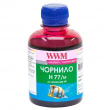 Чорнило WWM H77 Magenta для HP 200г (H77/M) водорозчинне