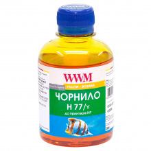 Чернила WWM H77 Yellow для HP 200г (H77/Y) водорастворимые