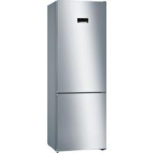 Холодильник Bosch  с нижней морозильной камерой -203x70/NoFrost/435 л/А++/нерж. сталь (KGN49XL306)