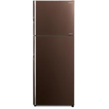 Холодильник Hitachi R-VG470PUC8GBW верх. мороз./ Ш680xВ1770xГ720/ 395л /A++ /Коричневый (стекло) (R-VG470PUC8GBW)