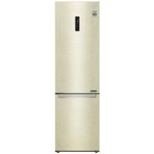 Холодильник LG GA-B509SEKM 2м/384 л/А++/Total No Frost/инверторный компрессор/внешн. диспл. /бежевый (GA-B509SEKM)