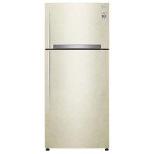 Холодильник LG GN-H702HEHZ c верхней морозильной камерой/ 180 см/ 507 л/А++/линейный компр./бежевый (GN-H702HEHZ)
