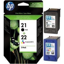 Набір Картриджів HP 21 Black + HP 22 Color (Combo Pack) (SD367AE)