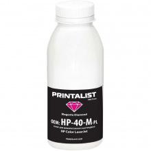 Тонер PRINTALIST HP CLJ универсальный 40г Magenta (HP-40-M-PL)