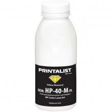 Тонер PRINTALIST HP CLJ универсальный 40г Yellow (HP-40-Y-PL)