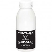 Тонер PRINTALIST HP CLJ универсальный 50г Black (HP-50-K-PL)