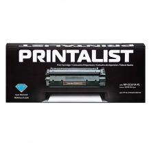 Картридж PRINTALIST  аналог HP 304A Cyan (HP-CC531A-PL)