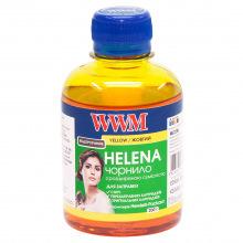 Чорнило WWM HELENA Yellow для HP 200г (HU/Y) водорозчинне