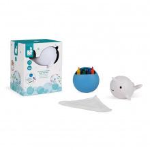 Іграшка для купання Janod Малювання. Нарвал  (J04726)