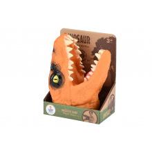 Игрушка-перчатка Same Toy Dino Animal Gloves Toys оранжевый  (AK68622-1Ut3)