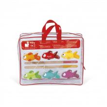 Іграшки для купання Janod Рыбалка. Рыбки (J03247)